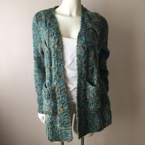 Soft Surroundings Marled Cardigan Petite Sz PS